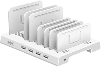 Unitek Detachable 4 Port USB Charging Station