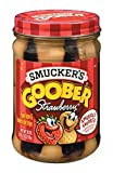#10: Smuckers Goober Peanut Butter and Strawberry 510 g (Pack of 2)