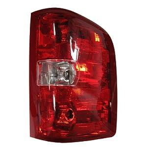 Amazon.com: 2007-2010 (2008 07 08 09 10) Chevy Silverado Tail Light