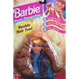 Barbie Magic Change Hair (REDDISH HAIR) - Double Hair Fun! (1995 Arcotoys, Mattel)