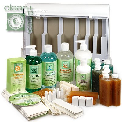 Clean  &  Easy Roller Waxing Spa Kit CL203