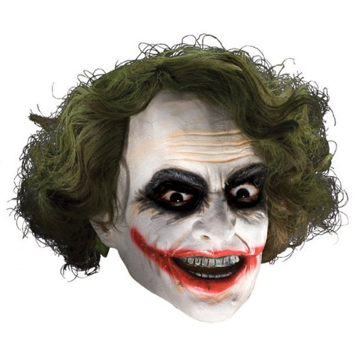 The Joker 3/4 Vinyl Adult Mask