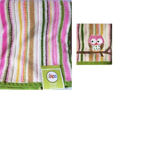 Circo Love And Nature Owl Bath Towel Set