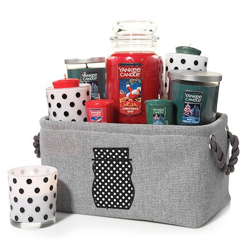 Yankee Candle Jackson Frost Silhouette Basket Gift Set (Candle Basket compare prices)