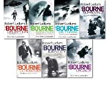 Robert Ludlum Bourne collection 7 Books set (The Bourne Deception, ultimatum, supremacy, betrayal, sanction)