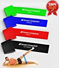 Best Durability 4 Exercise Bands/ Resistance Loop Bands / Fitness Bands /Leg Resistance Bands/ Stretch Bands ★100% Natural Eco-Friendly Elastic Latex Band ★ The Perfect Band for Exercise ★100% Risk-Free Lifetime Money Back Guarantee