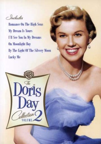 Cover art for  The Doris Day Collection, Vol. 2 (Romance on the High Seas / My Dream Is Yours / On Moonlight Bay / I'll See You in My Dreams / By the Light of the Silvery Moon / Lucky Me)