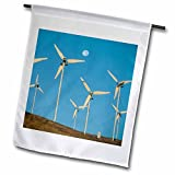 Danita Delimont - Energy - California, Altamont Pass, wind energy generators - US05 KSC0019 - Kevin Schafer - 18 x 27 inch Garden Flag (fl_88510_2)