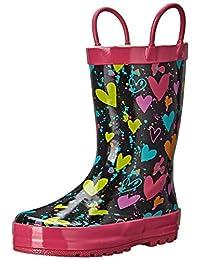 Western Chief Heart Splatter Rain Boot (Toddler/Little Kid/Big Kid)
