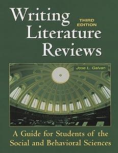 galvan writing literature reviews