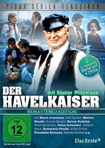 Der Havelkaiser (Remastered Edition) Die komplette Kult-Serie mit Günter Pfitzmann (Pidax Serien-Klassiker) [4 DVDs]