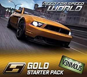 Need For Speed World Gold Starter Pack [Online Game Code]