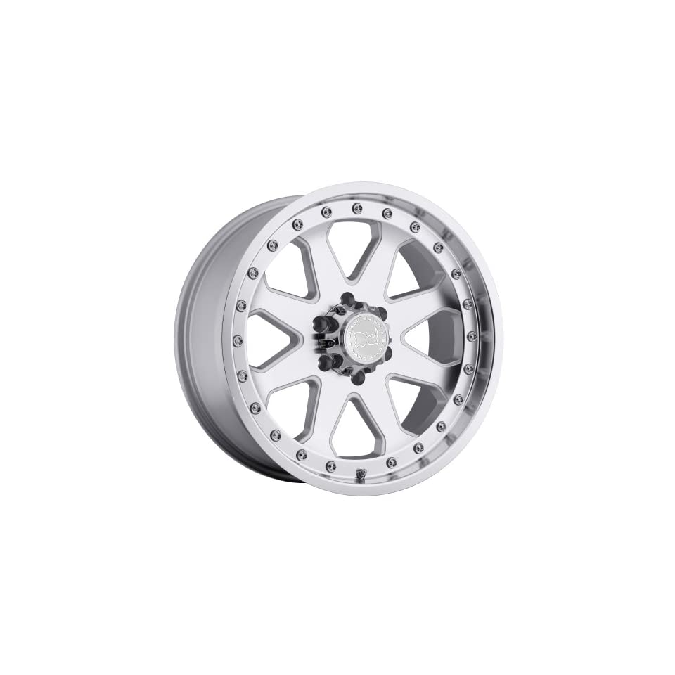 20x9 Black Rhino Imperial (Silver w/ Machined Face & Lip) Wheels/Rims 6x139.7 (2090MPR126140S12)