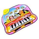 Towallmark(TM)Touch Play Keyboard Musical Music Singing Carpet Mat Kids Baby Toy Gift