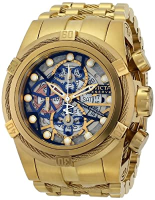 Invicta Men's 12762 Bolt Analog Display Mechanical Gold Watch
