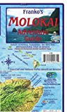 Molokai Hawaii Adventure & Dive Guide Franko Maps Waterproof Map