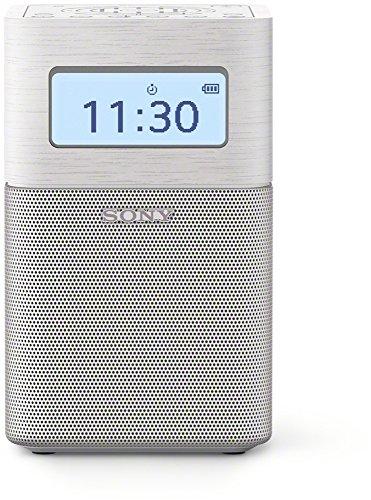 Sony SRFV1BTW.EU8 Radio portable digitale FM Bluetooth/NFC Blanc