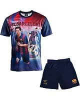 Ensemble Maillot + short Barça - Lionel MESSI - Collection officielle FC BARCELONE - Taille enfant garçon