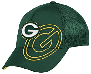 NFL Green Bay Packers End Zone Structured Flex Hat - Tw86Z by Reebok