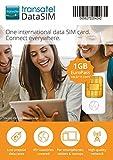 Transatel・ヨーロッパ各国プリペイドデータSIMカード (Euro・1GB・15日間) [並行輸入品]