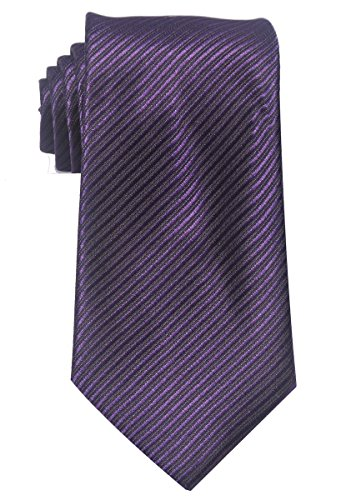 Tinksky-Paisley-Jacquard-Woven-Mens-Tie-Necktie-Scarf-Wedding-Party-Dress-13-Colors-Striped-Purple