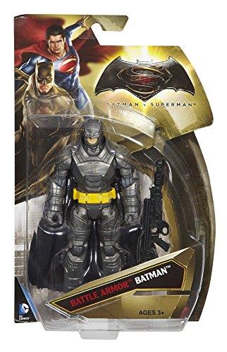 Batman V Superman - Dawn Of Justice - Batman - Armatura Da Battaglia - Personaggio 15Cm