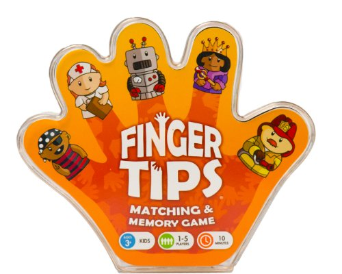 Finger Tips Board Game, People Edition - 1
