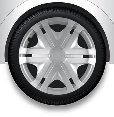 """Radzierblenden Radkappen Radabdeckung 16"""" Zoll #55 SILBER ABS von ZentimeX - Reifen Onlineshop"""