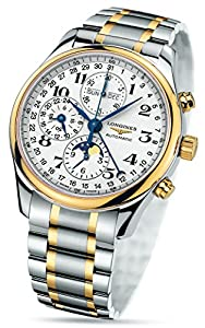 Longines Master Collection Automatic Chronograph Day Date Moonphase Mens Watch L2.773.5.78.7