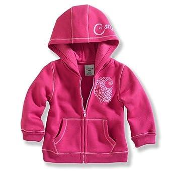 Amazon Carhartt Baby Girls Infant Cozy Zip Front