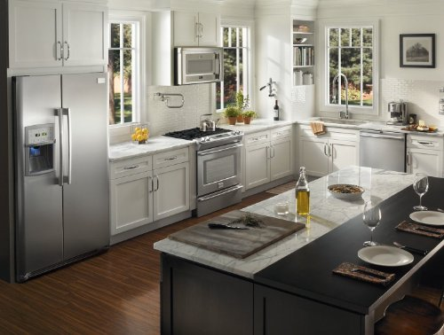 NEW Frigidaire Professional 4 Piece Stainless Steel Appliance Package with Counter Depth Refrigerator #1