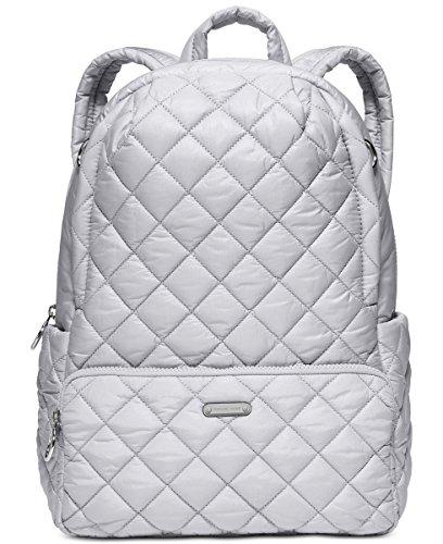(マイケルマイケルコース) MICHAEL Michael Kors Roberts Medium Zip Backpack mac1mwb2635280 (並行輸入品) VINUSMALL (1.Dove/Silver)