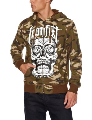Iron Fist Militant Hoodie Men's Sweatshirt Camo/Green XX-Large