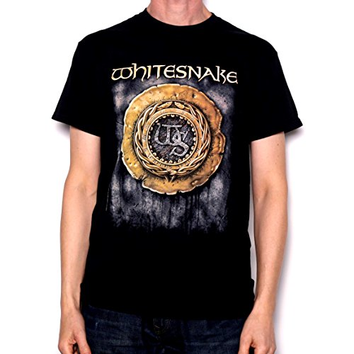 Whitesnake T Shirt - 1988 Crest Album Design 100% Official Import!