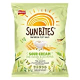 Walkers Sunbites Sour Cream & Black Pepper Snacks 15x28g