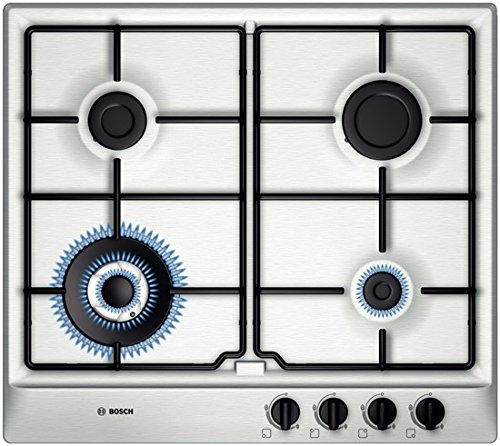 Brushed Steel Gas Hob (4 Burner)