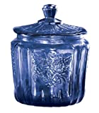Cobalt Blue Biscuit Jar by Miles Kimball