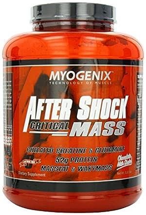 Myogenix After Shock Critical Mass, Chocolate Milkshake, 5.62 Pounds