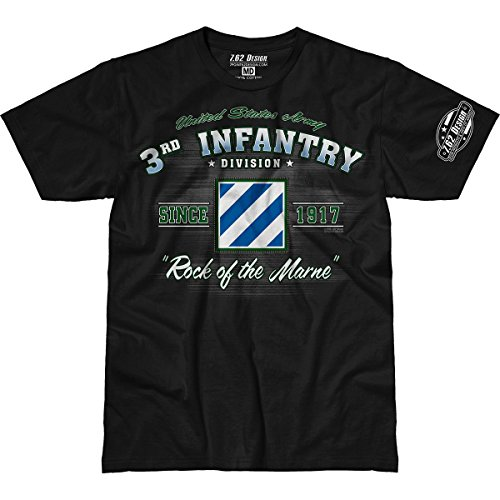 army-3rd-infantry-division-vintage-762-design-premium-mens-t-shirt-lg