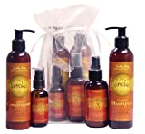 Earthly Body Marrakesh Bag Deal-Original Scent- 8oz Shampoo & Conditioner & 4oz Marrakesh X Detangler & 2oz Oil