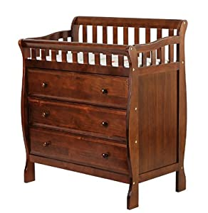 Dream On Me Marcus Changing Table and Dresser, Espresso, Small