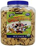 Kirkland Signature Organic Disney Animal Crackers, Vanilla, 64 Ounce by Kirkland Signature [Foods]
