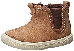 Stride Rite Lil Tabor Crib Boot (Infant), Brown, 2 M US Infant