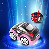 Gptoys Mini Rc Racing Stunt Car 360 Degree High Speed Rotation Exciting Drift Performance With Flashing Lights...