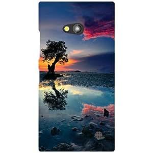 Nokia Lumia 730 Back Cover - Sea Water Designer Cases