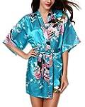 Avidlove Women's Kimono Robes Peacock...