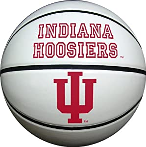 Buy Indiana Hoosiers Official Size Synthetic Leather Autograph Basketball by Game Master