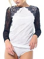 Arefeva Body (Blanco / Negro)