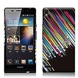 Huawei Ascend P6 Gel-Case / Phone Case Shooting Stars