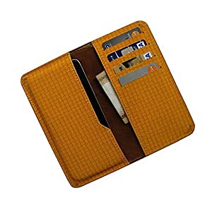 i-KitPit : PU Leather Wallet Flip Pouch Case For BlackBerry Z3 (YELLOW)